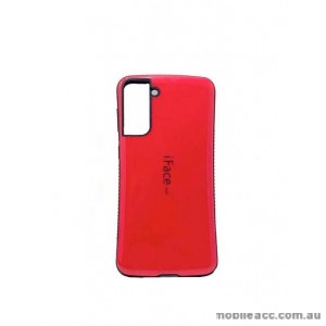 ifacMall Anti-Shock Case For Samsung S21 6.2 inch  Hotpink
