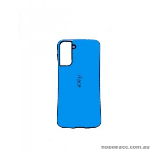 ifacMall Anti-Shock Case For Samsung S21 6.2 inch  Blue