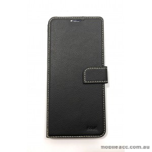 Molancano ISSUE Diary Wallet Case For Samsung Galaxy A20 A30 Black