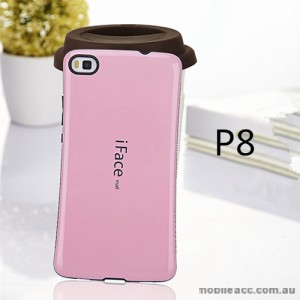 Iface Anti-Shock Case for Huawei P8 - Light Pink