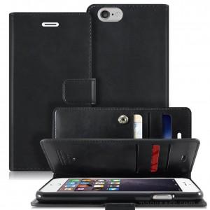 Mercury Mansoor Wallet Diary Case for iPhone 5/5S/SE Black
