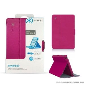 ORIGINAL SPECK STYLEFOLIO FOR IPAD MINI 4 - Fuchsia Pink