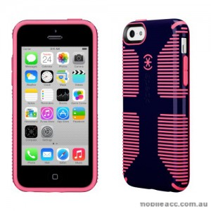 Genuine Speck Candyshell Grip Case for iPhone 5C - Navy/Pink